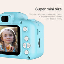 Load image into Gallery viewer, Children Mini Cute Video Camera 2.0 Inch Take Picture Camera 1080P HD Boys Girls Best Birthday Gifts Kids Digital Camera CMOS