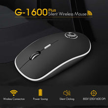 Load image into Gallery viewer, Ergonomic Mouse Wireless Mouse Computer Mouse PC USB Optical 2.4Ghz 1600 DPI Silent Mause Mini Noiseless Mice For PC Laptop Mac