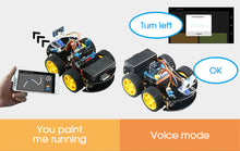 Load image into Gallery viewer, Emakefun For Arduino Robot 4WD Cars APP RC Remote Control Bluetooth Robotics Learning Kit Educational Stem Toys for Children Kid