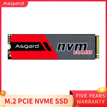 Load image into Gallery viewer, Top selling Asgard  3D NAND 256GB 1TB  M.2 NVMe pcie SSD Internal Hard Disk for Laptop desktop high performance PCIe NVMe