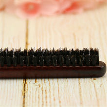 Load image into Gallery viewer, High Quality Wood Handle Natural Boar Bristle Hair Brush Fluffy Comb Hairdressing Barber Hair Styling Tools