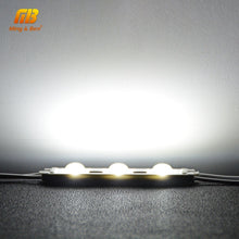 Load image into Gallery viewer, LED Module Light 220V 3LED Injection LED Module White 5PCS 10PCS 15PCS 20PCS/lot Super Bright Professional Wall Kitchen Light