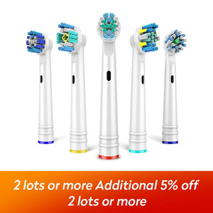 4Pcs/lot Replacement Electric Toothbrush Heads For EB-17P18202550 Hygiene Care Clean Electric Tooth Brush for all round head