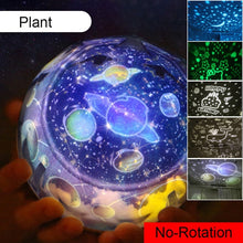 Load image into Gallery viewer, Starry Sky Night Light Planet Magic Projector Earth Universe LED Lamp Colorful Rotate Flashing Star Toy Kids Baby Christmas Gift