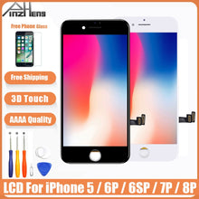 Load image into Gallery viewer, AAAA Original Screen LCD For iPhone 5 6 6s 7 8 Plus LCD Display Assembly Digitizer No Dead Pixel With 3D Touch Replacement LCD