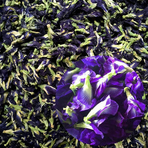 Simulation Kitchen Toy Thailand Blue Butterfly 25g 50g Clitoria Ternatea Blue Butterfly Thai Butterfly Pea Tea Vitamin A Toy