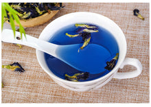 Load image into Gallery viewer, Simulation Kitchen Toy Thailand Blue Butterfly 25g 50g Clitoria Ternatea Blue Butterfly Thai Butterfly Pea Tea Vitamin A Toy