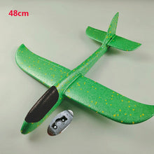 Load image into Gallery viewer, 2019 DIY Kids Toys Hand Throw Flying Glider Planes Foam Aeroplane Model Party Bag Fillers Flying Glider Airplane Toys for Games