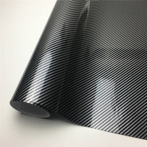 2D 3D 4D 5D 6D Carbon Fiber Vinyl Wrap Film Car Wrapping Foil Console Computer Laptop Skin Phone Cover Motorcycle