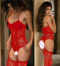 Load image into Gallery viewer, Sexy FishNet Lingerie Babydoll baby doll dress wedding night Underwear intimates Chemises Body stocking costumes Negligees 9911