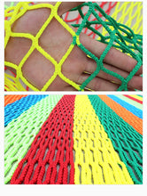 Load image into Gallery viewer, Children Expand Rainbow Net Indoors And Outdoors Topdata KID'S Playground Rainbow Tree Color Safety Net Falling Prevention Net