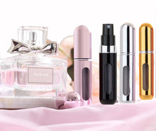 Load image into Gallery viewer, MUBTF - 5ml Refillable Mini Perfume Spray Bottle Aluminum Spray Atomizer Portable Travel Cosmetic Container Perfume Bottle