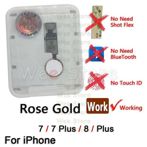 Universal Restore Ordinary Functions Return Home Button Flex For iPhone 7 8 Plus Back Home Flex Cable Phone Parts Replacement