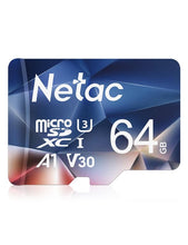 Load image into Gallery viewer, Netac P500 A1 Memory Card 64GB 32GB 16GB 100MB/S Microsd TF/SD Card Class10 UHS-1 Flash Card Memory 32 GB Micro SD Card Hot sale