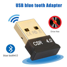 Load image into Gallery viewer, for bluetooth usb adapter dongle  4.0 5.0 computer pc speaker car audio receiver transmiter tv adaptador 3.5mm mouse