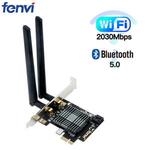 Dual Band 2100Mbps Desktop Wireless Intel 9260 PCI-E WiFi Bluetooth 5.0 Adapter 802.11ac 2.4G/5G MU-MIMO 9260NGW For Windows 10