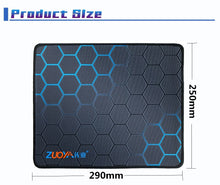 Load image into Gallery viewer, ZUOYA Gaming Mouse Pad Anti-slip Natural Rubber Computer Anime Mousepad Mat Speed Locking Edge for CS GO LOL Dota Gamer Office