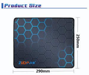 ZUOYA Gaming Mouse Pad Anti-slip Natural Rubber Computer Anime Mousepad Mat Speed Locking Edge for CS GO LOL Dota Gamer Office