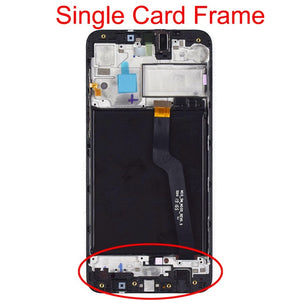 "6.2"" Original LCD For Samsung Galaxy A10 A105 A105F SM-A105F LCD Display Screen replacement Digitizer Assembly with Frame"