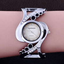 Load image into Gallery viewer, New design women bangle wristwatch quartz crystal luxury relojes rhinestone fashion female watches hot sale eleagnt mujer watch