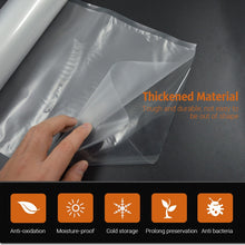 Load image into Gallery viewer, TINTON LIFE 15CMx500CM/Rolls Vacuum Sealer Food Storage Bags Saran Wrap