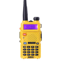 Load image into Gallery viewer, BaoFeng UV-5R Walkie Talkie Professional CB Radio Baofeng UV5R Transceiver 128CH 5W VHF&UHF Handheld UV 5R For Hunting Radio