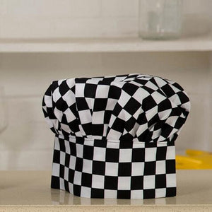 1pc Cooking Adjustable Chef Hat Men Kitchen Baker Elastic Hat Catering Cooking Cap Striped Plain Hats Working Cap DAJ9025