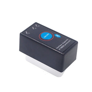 Super Mini ELM327 Bluetooth ELM 327 Power Switch V2.1 On/Off Button OBD2 Car Diagnostic Tool Multi-Languages For OBDII Protocols