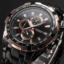 Load image into Gallery viewer, New SALE CURREN Watches Men quartz Top Brand Analog Military male Watches Men Sports army Watch Waterproof Relogio Masculino