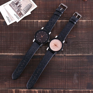 Vansvar Women Watch Luxury Brand Casual Simple Quartz Clock For Women Leather Strap Wrist Watch Reloj Mujer ping