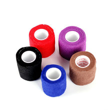 Load image into Gallery viewer, Disposable Self Adhesive Elastic Bandage For Handle With Tube Tightening Of Tattoo Accessories Random Color x1