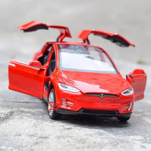 Load image into Gallery viewer, New 1:32 Tesla MODEL X Alloy Car Model Diecasts & Toy Vehicles Toy Cars Kid Toys For Children Gifts Boy Toy