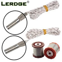 Load image into Gallery viewer, LERDGE Mendel Heating Tube Reprap 12V 24V 50W Ceramic Cartridge Heater for HotEnd J-Head 6*20mm 3D Printer parts 1M 2M for 1PCS