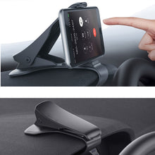 Load image into Gallery viewer, 6.5inch Dashboard Car Phone Holder Easy Clip Mount Stand Car Phone Holder GPS Display Bracket Classic Black Car Holder Support