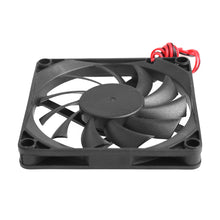 Load image into Gallery viewer, 12V Cooler Fan for PC 2-Pin 80x80x10mm  Computer CPU System Heatsink Brushless Cooling Fan 8010