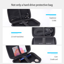 Load image into Gallery viewer, ORICO 2.5 Inch HDD Box Bag Case Portable Hard Drive Bag for External Portable HDD hdd box case storage Protection Black/Red/Blue