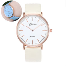 Load image into Gallery viewer, New Fashion Simple Style Temperature Change Color Women Watch Sun UV Color Change Men Women Quartz Wristwatches Relogio Feminino