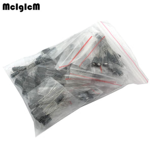 1set of 120pcs 12 values 0.22UF-470UF Aluminum electrolytic capacitor assortment kit set pack