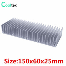 Load image into Gallery viewer, (Special offer) 150x60x25mm radiator Aluminum heatsink Extruded heat sink for LED Electronic heat dissipation cooling cooler
