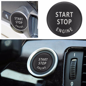 Car Engine START Button Replace Cover STOP Switch Accessories Key Decor for BMW X1 X5 E70 X6 E71 Z4 E89 3 5 Series E90 E91 E60