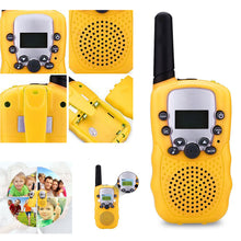 Load image into Gallery viewer, 2 Pcs/Set Children Toys 22 Channel Walkie Talkies Two Way Radio UHF Long Range Handheld Transceiver Kids Gift M09