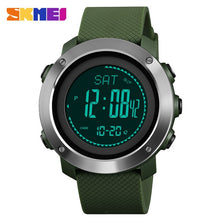 Load image into Gallery viewer, SKMEI Altimeter Barometer Thermometer Altitude Men Digital Watches Sports Clock Climbing Hiking Wristwatch Montre Homme 1418