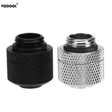 Load image into Gallery viewer, VODOOL Water Cooling Fittings G1/4 External Thread Pagoda For 9.5X12.7mm Soft Tube PC Computer Water Cooling System Connector