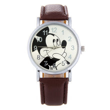 Load image into Gallery viewer, Cartoon Cute Brand Leather Quartz Watch Children Kids Girls Boys Casual Fashion Bracelet Wrist Watch Clock Relogio WristWatch