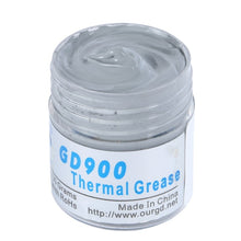 Load image into Gallery viewer, GD 30g Gray Nano GD900 Containing Silver Thermal Conductivity Grease Paste Silicone Heat Sink Compound 4.8W/M-K For CPU