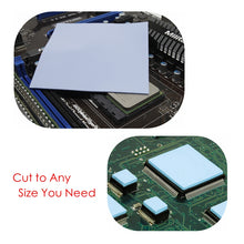 Load image into Gallery viewer, ALSEYE Thermal Pad 2W 100 x 100 x 1.25mm Thermal Grease Heatsink Cooling Pad mm for CPU GPU Heat Sinks