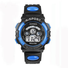 Load image into Gallery viewer, Hot Sale Waterproof Children Watch Boys Girls LED Digital Sports Watches Silicone Rubber watch kids Casual Watch Gift 2018 #D