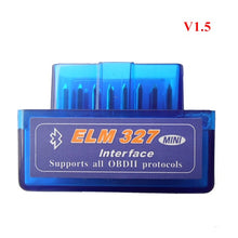 Load image into Gallery viewer, V1.5 Super MINI ELM327 Bluetooth ELM 327 Version 1.5 With PIC18F25K80 Chip OBD2 / OBDII for Android Torque Car Code Scanner