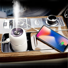 Load image into Gallery viewer, Portable LED Air Humidifier Essential Oil Diffuser Mini USB Air Humidifier Purifier Car ultrasonic Aromatherapy Diffuser USB
