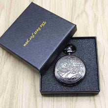 Load image into Gallery viewer, Brand Vintage Bronze Doctor Who Quartz Pocket Watch Best Gift Necklace Pendant Steampunk Watch Sets#121302